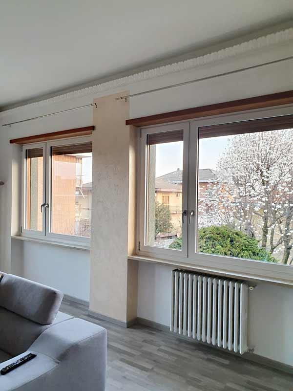 Porta-finestra in alluminio taglio termico